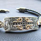 Украшения handmade. Livemaster - original item Bracelet braided: Bracelet male Orthodox. Handmade.