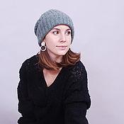 handmade. Livemaster - original item Ultra cashmere women`s hat. Handmade.