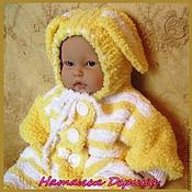 Работы для детей, handmade. Livemaster - original item Overalls Eeyore (Author`s work). Handmade.