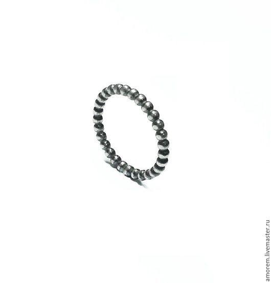 Кольца ручной работы. Ярмарка Мастеров - ручная работа. Купить Наборное кольцо Бусинки. Handmade. Серебро, серебряный, кольцо