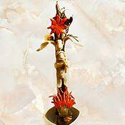 Фен-шуй и эзотерика handmade. Livemaster - original item Magic candle: New life. Handmade.