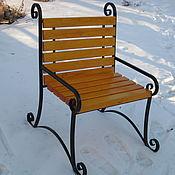 Для дома и интерьера ручной работы. Ярмарка Мастеров - ручная работа Кресло садовое Беседа. Handmade.