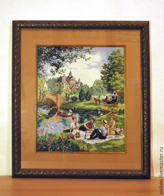 ` Пикник на берегу озера`