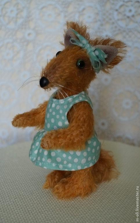 Мишки Тедди ручной работы. Ярмарка Мастеров - ручная работа. Купить Лисичка Рыжуля. Handmade. Рыжий, лисенок, оранжевый, хлопок