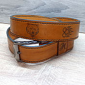 Аксессуары handmade. Livemaster - original item Elegant, original, personalized belt.. Handmade.