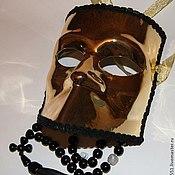 Подарки к праздникам ручной работы. Ярмарка Мастеров - ручная работа Венецианская маска золото. Handmade.