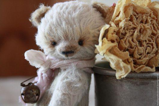 Мишки Тедди ручной работы. Ярмарка Мастеров - ручная работа. Купить Боня. Handmade. Бежевый, итальянская вискоза