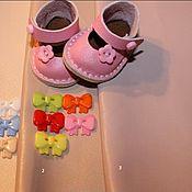 Обувь ручной работы. Ярмарка Мастеров - ручная работа Туфельки для кукол под заказ. Handmade.