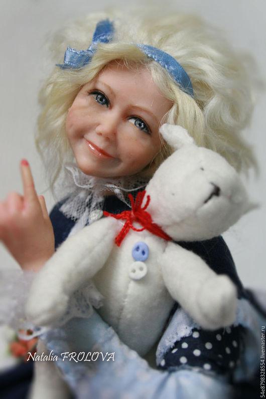 Коллекционные куклы ручной работы. Ярмарка Мастеров - ручная работа. Купить Моя капризуля. Handmade. Комбинированный, единственный экземпляр, лён