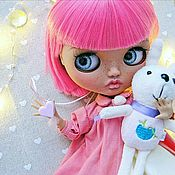 Куклы и игрушки handmade. Livemaster - original item Blythe muñeca personalizada Blythe muñeca OOAK (TBL). Handmade.