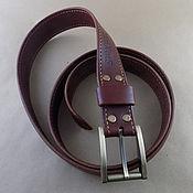 Аксессуары handmade. Livemaster - original item Strap leather. Handmade.