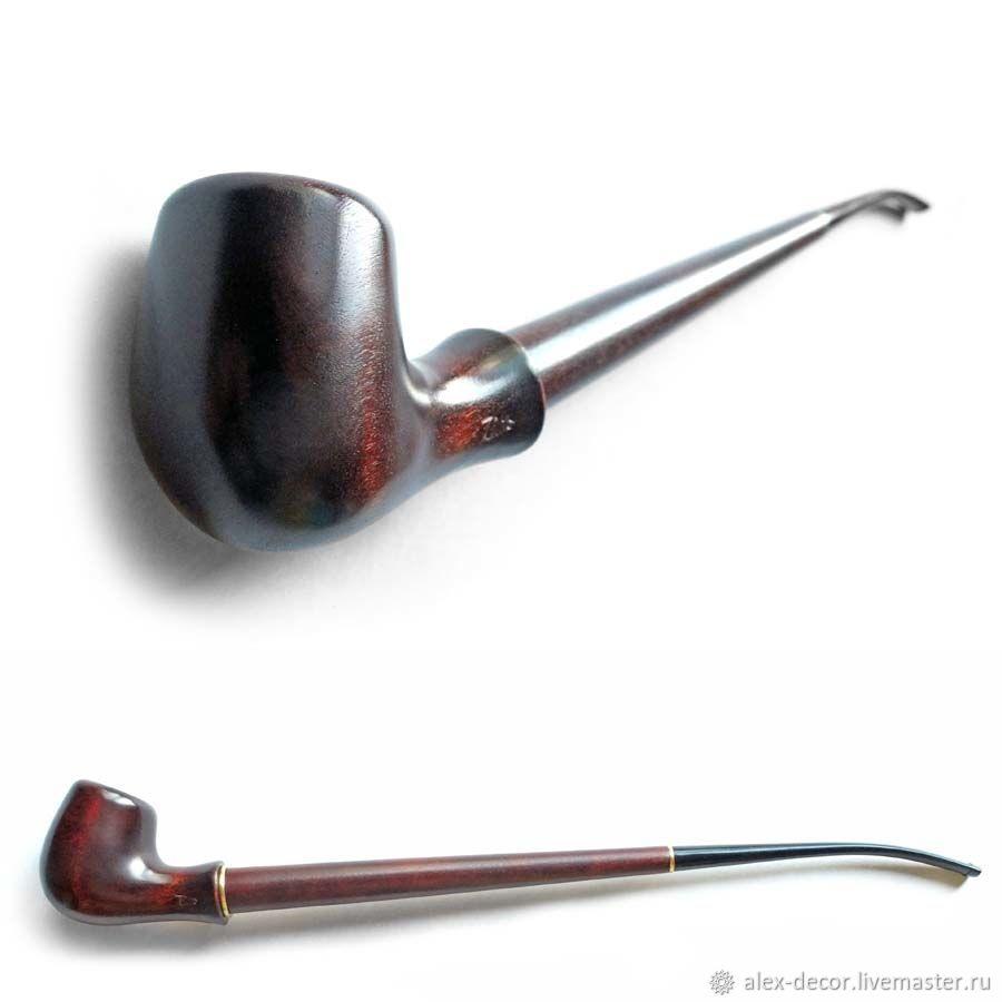 Подарки для мужчин, ручной работы. Ярмарка Мастеров - ручная работа. Купить Курительная трубка LB-2. Handmade. Коричневый