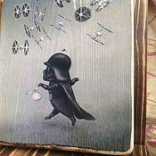 Картины и панно ручной работы. Ярмарка Мастеров - ручная работа Вэйдер в тумане. Handmade.