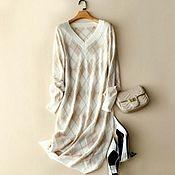 Одежда handmade. Livemaster - original item Dress Diamond pattern. Handmade.