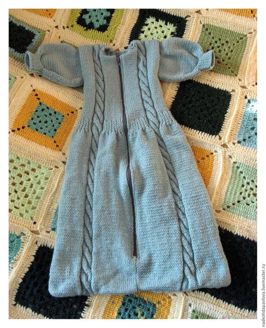 """Для новорожденных, ручной работы. Ярмарка Мастеров - ручная работа. Купить Конверт для новорожденных """"Сладкий сон"""". Handmade. Мятный"""
