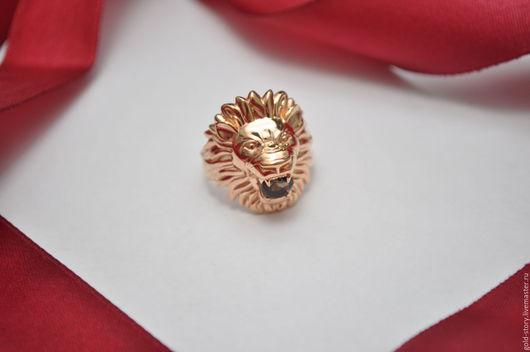 """Кольца ручной работы. Ярмарка Мастеров - ручная работа. Купить Кольцо """"ЛЕВ"""". Handmade. Серебряный, женское кольцо лев"""