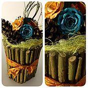 Подарки к праздникам ручной работы. Ярмарка Мастеров - ручная работа Икебана в ассортименте  (см.фото). Handmade.