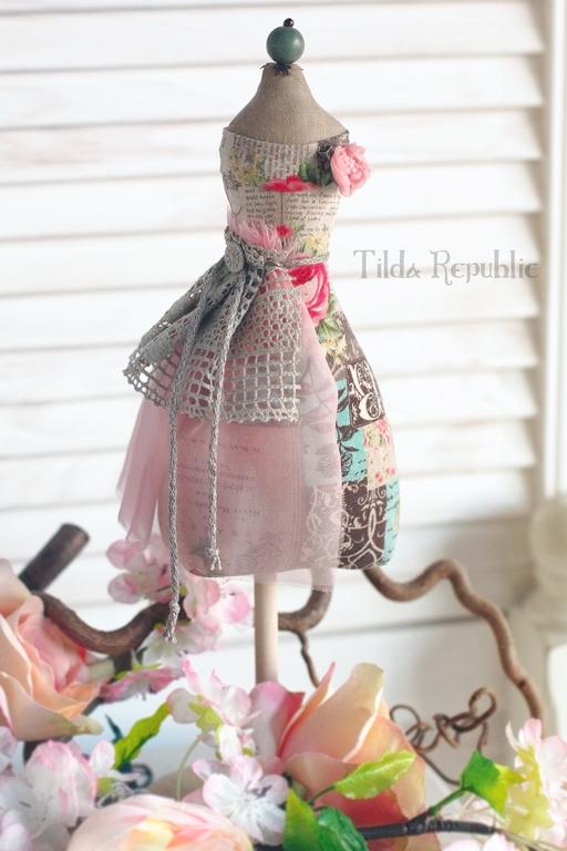 """Куклы Тильды ручной работы. Ярмарка Мастеров - ручная работа. Купить Манекен """"Нежный шебби"""". Handmade. Тильда, украшение для интерьера"""