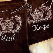 Сувениры и подарки handmade. Livemaster - original item Velvet bags of