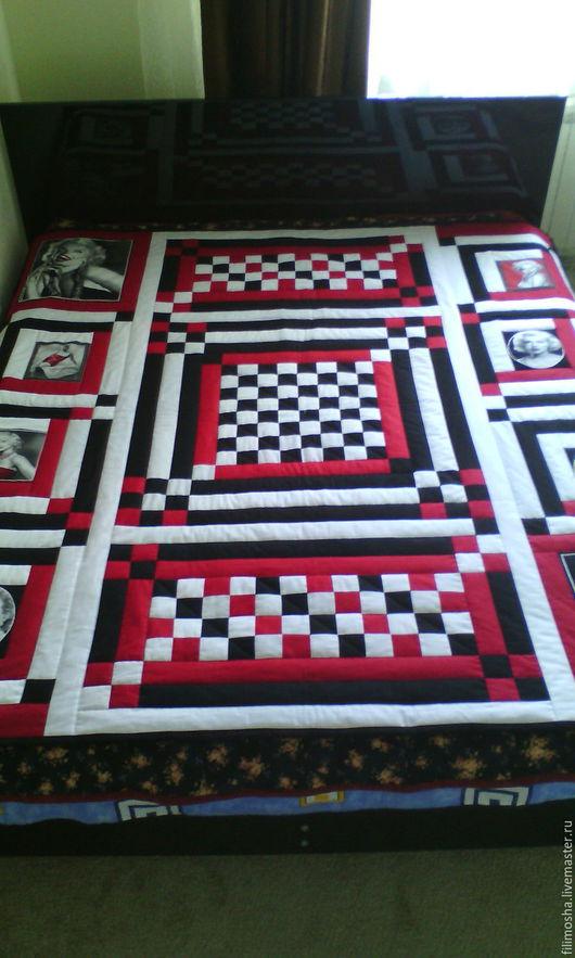 Текстиль, ковры ручной работы. Ярмарка Мастеров - ручная работа. Купить лоскутное одеяло, лоскутный плед. Handmade. Комбинированный, синтепон