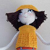 Куклы и игрушки ручной работы. Ярмарка Мастеров - ручная работа Анна. Каркасная кукла.. Handmade.
