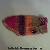 Для домашних животных, ручной работы. Ярмарка Мастеров - ручная работа Вязаный свитер для собаки. Handmade.