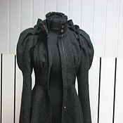 Пальто ручной работы. Ярмарка Мастеров - ручная работа Фантазийное полупальто. Handmade.