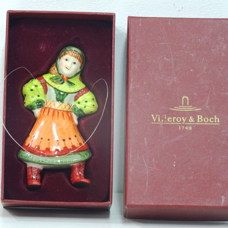 Christmas toy Villeroy Boch, Vintage toy, Kaliningrad,  Фото №1