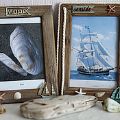 Сувениры и подарки handmade. Livemaster - original item Photo frames SEA. Handmade.