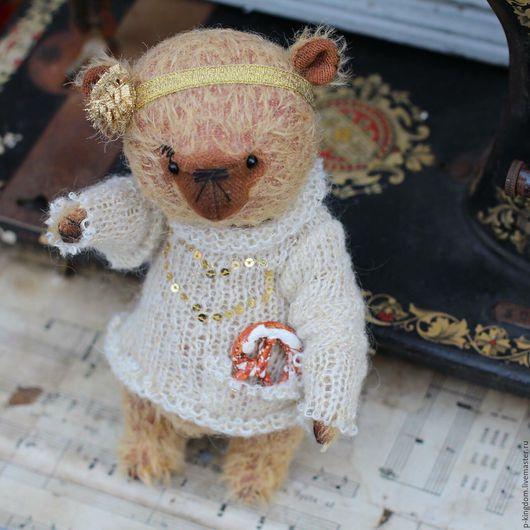 Мишки Тедди ручной работы. Ярмарка Мастеров - ручная работа. Купить Мишка Тедди - Бубочка. Handmade. Мишка тедди