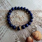 Украшения handmade. Livemaster - original item Bracelet made of lapis lazuli. Handmade.