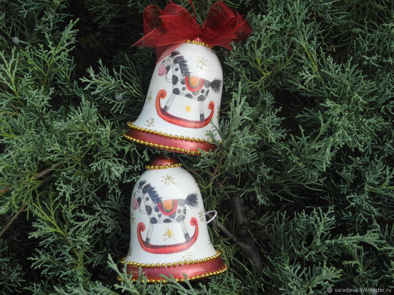 """Новогодние колокольчики """"Лошадка"""", Kolokolchiki, Novorossiysk,  Фото №1"""