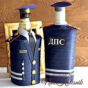 Подарки на 23 февраля ручной работы. Ярмарка Мастеров - ручная работа Подарки на 23 февраля: Подарок мужчине сотруднику ДПС военному мужчине. Handmade.