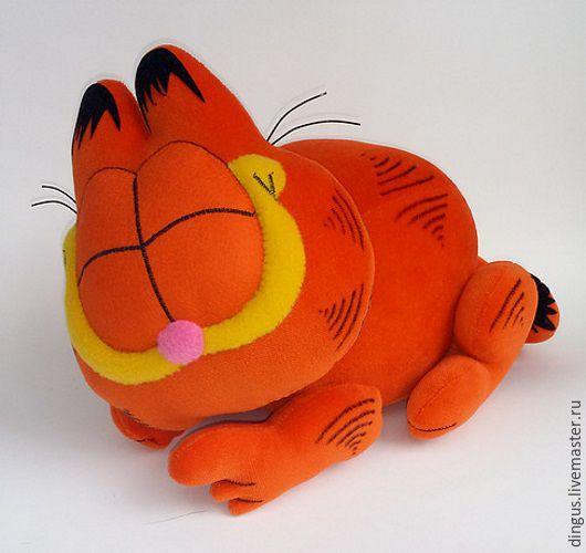 Игрушки животные, ручной работы. Ярмарка Мастеров - ручная работа. Купить Гарфилд спящий. Handmade. Рыжий, кот, гарфилд, дингус