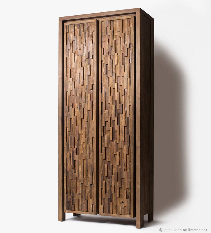 Дизайнерский бельевой шкаф из массива, Шкафы, Нижний Новгород,  Фото №1