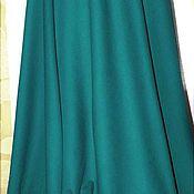 Одежда ручной работы. Ярмарка Мастеров - ручная работа Зеленая  . шерсть . юбка. Handmade.