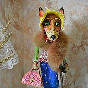 Куклы и игрушки ручной работы. Ярмарка Мастеров - ручная работа Лисонька Лисичка. Handmade.