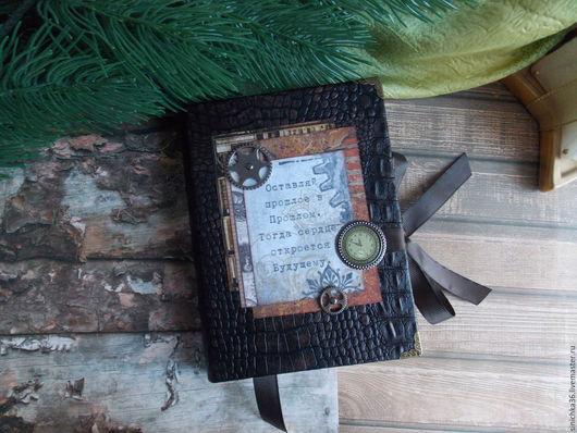 Блокноты ручной работы. Ярмарка Мастеров - ручная работа. Купить Блокнот мужской. Handmade. Коричневый, блокноты, авторская работа, кофе