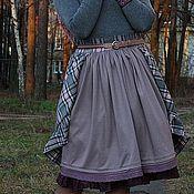 """Одежда ручной работы. Ярмарка Мастеров - ручная работа Юбка в стиле бохо """"Степ"""". Handmade."""