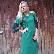 """Одежда ручной работы. Ярмарка Мастеров - ручная работа Платье """"Зеленое дизайнерское настроение"""". Handmade."""