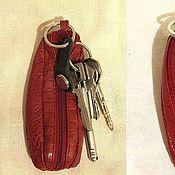 Сумки и аксессуары ручной работы. Ярмарка Мастеров - ручная работа Футляр для ключей. Handmade.