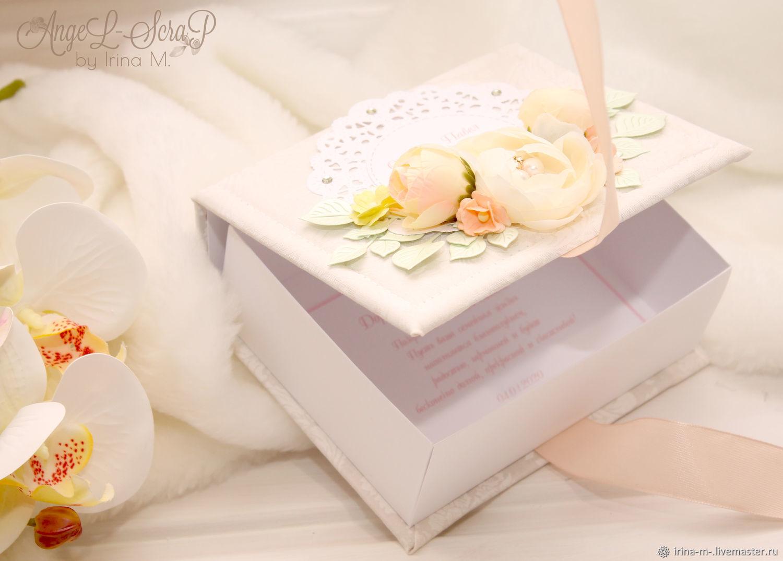 Коробочка для денег свадебная, Подарки, Москва,  Фото №1