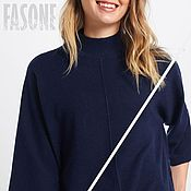 Одежда handmade. Livemaster - original item Women`s cashmere sweater Blue sweater female. Handmade.