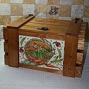Для дома и интерьера ручной работы. Ярмарка Мастеров - ручная работа Большой ящик для овощей. Handmade.