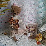 Куклы и игрушки ручной работы. Ярмарка Мастеров - ручная работа Мишка Софи. Handmade.