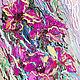 """Картины цветов ручной работы. Ярмарка Мастеров - ручная работа. Купить """"Кружевной Танец"""" - картина с цветами маслом. Handmade. Фуксия"""