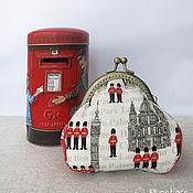 """Сумки и аксессуары ручной работы. Ярмарка Мастеров - ручная работа Кошелек """"Лондон"""". Handmade."""