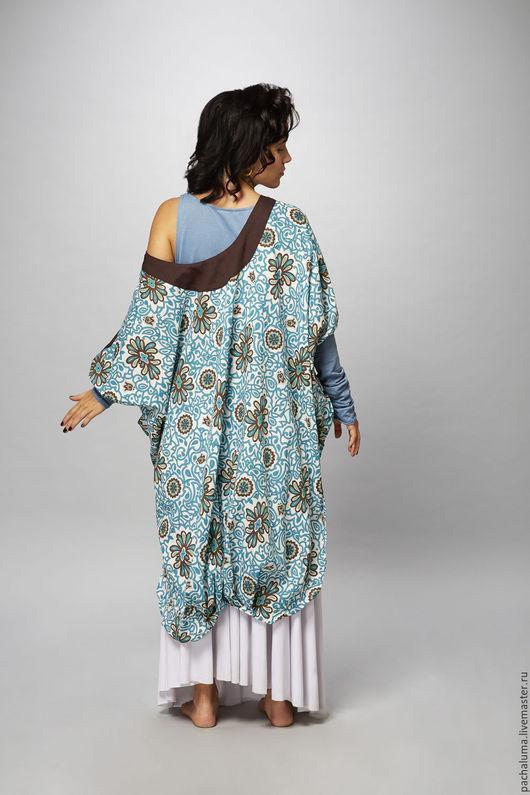 Кофта `Рамбутан`. Длинная трикотажная майка в комплекте. Размер: Free size Состав: хлопок 100%