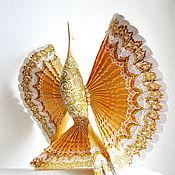 Подарки ручной работы. Ярмарка Мастеров - ручная работа Птица счастья для молодой семьи, домашний оберег, дерево,роспись. Handmade.