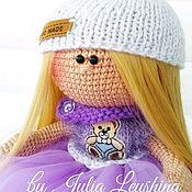 Куклы Тильда ручной работы. Ярмарка Мастеров - ручная работа Интерьерная кукла в стиле Тильда вязаная крючком. Handmade.